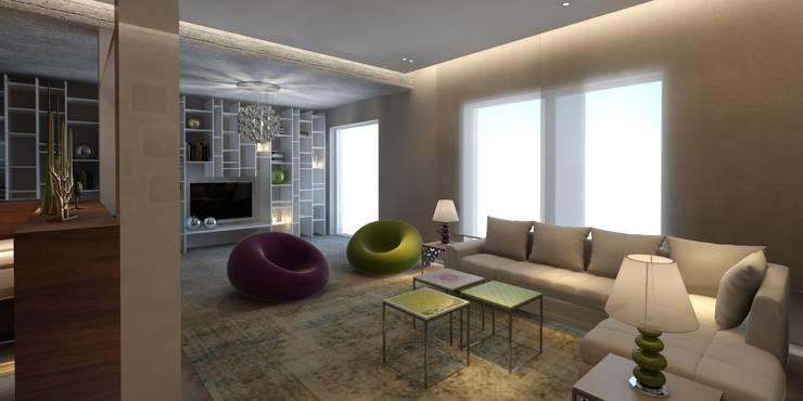Living Space:   تنفيذ Lines Studios