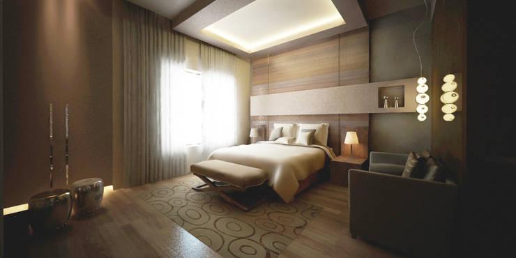Bedroom:   تنفيذ Lines Studios