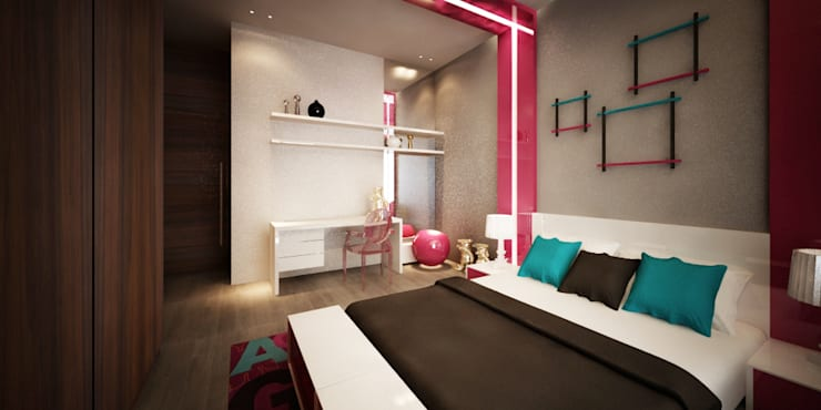 Kids' Bedroom:   تنفيذ Lines Studios