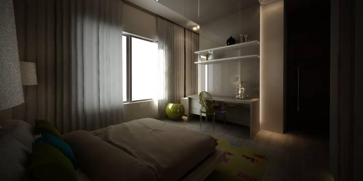 Kids' bedroom 2:   تنفيذ Lines Studios