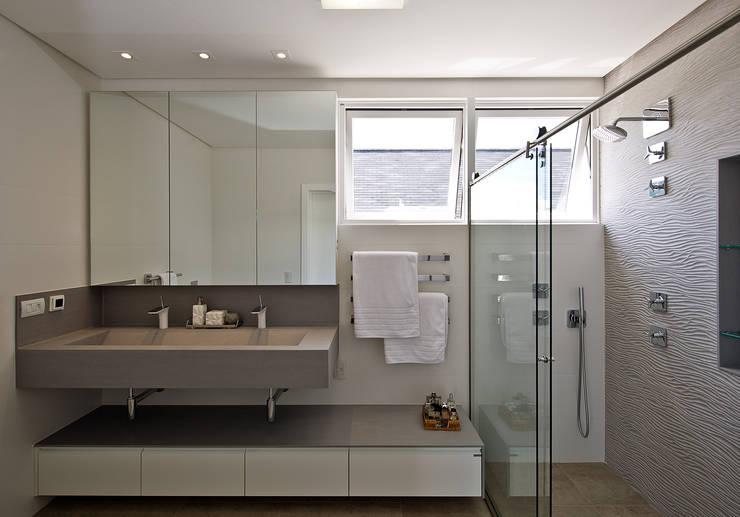 حمام تنفيذ Espaço do Traço arquitetura