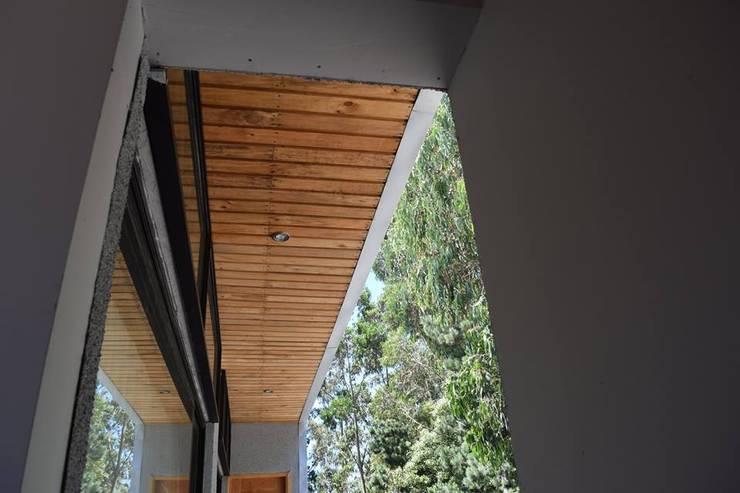 DETALLES: Casas unifamiliares de estilo  por Manuel Herrera