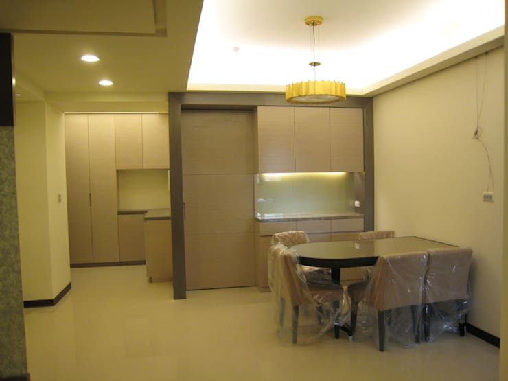 張小姐:  餐廳 by Joy Full Interior Designer 佐輔室內裝修