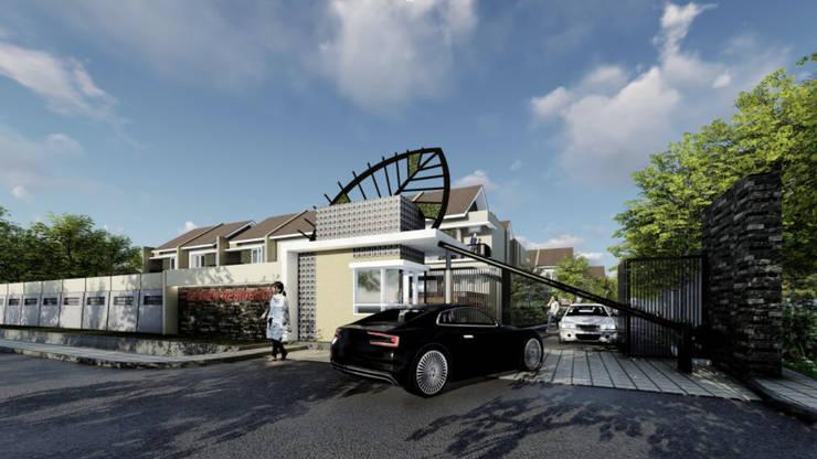 Gading Kenten Residence - Palembang:  Rumah teras by ANJARSITEK