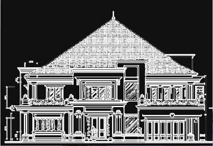 Mr.Dino's House in Renon – Bali:  Rumah by ANJARSITEK