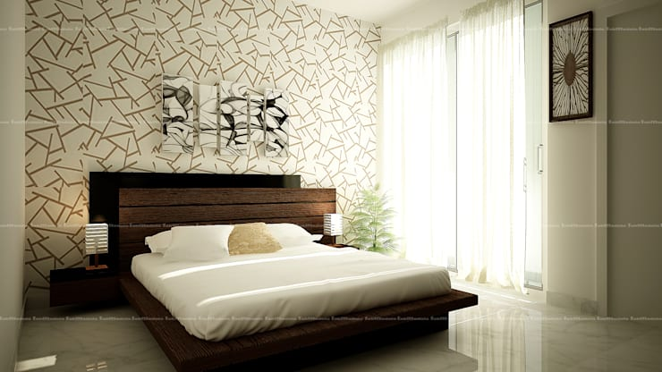 Bedroom designs: modern Bedroom by Fabmodula