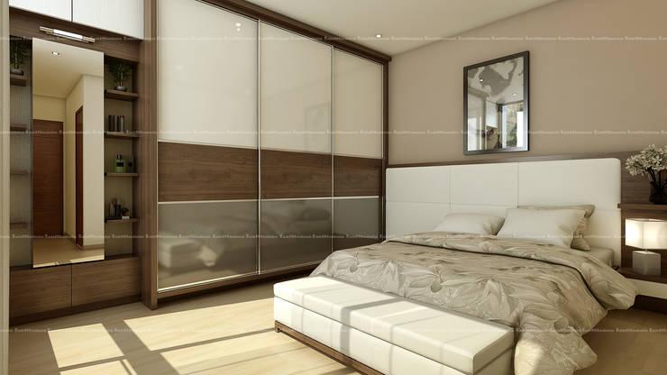 Bedroom designs:  Bedroom by Fabmodula,Modern