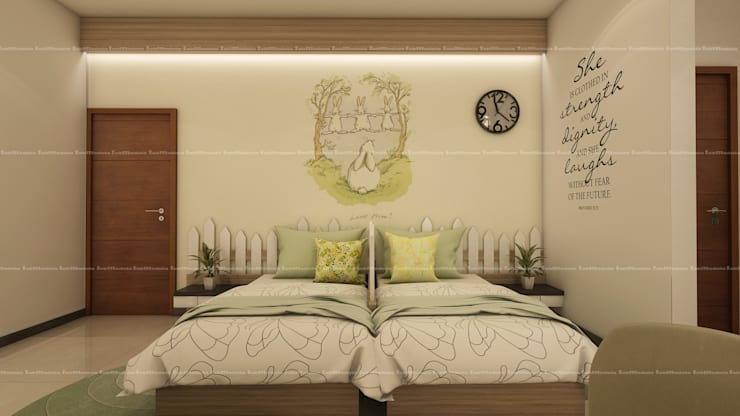 Kid's bedroom designs: modern Bedroom by Fabmodula