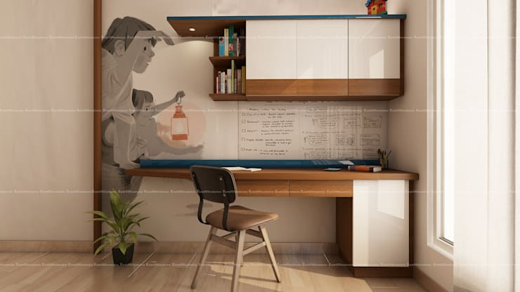 Kid's bedroom designs: modern Study/office by Fabmodula
