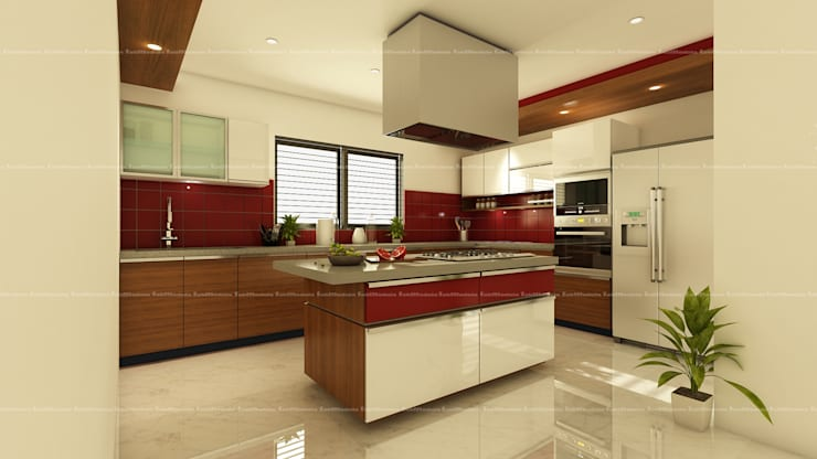 Kitchen designs:  Kitchen by Fabmodula