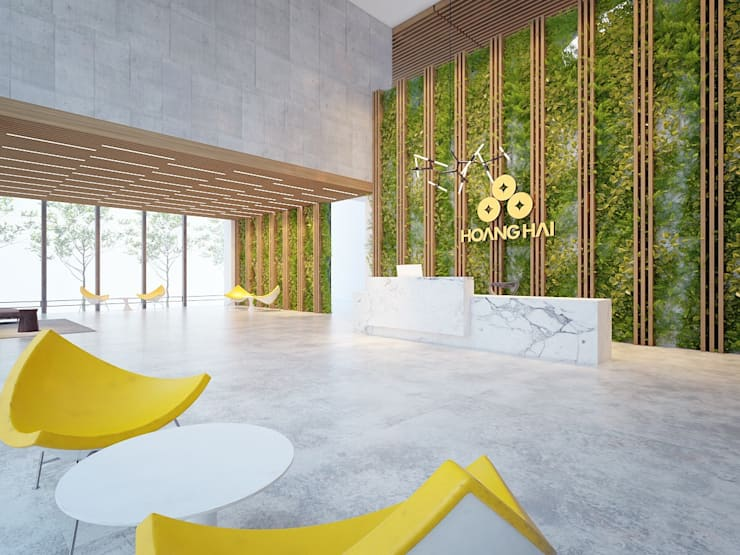 Thiết kế nội thất văn phòng Công ty cổ phần bao bì Hoàng Hải :  Khu Thương mại by AFA Design
