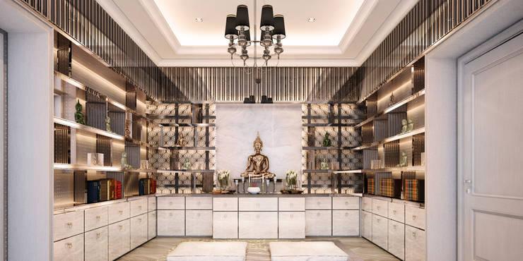 งานออกแบบรีโนเวทบ้าน:  ตกแต่งภายใน by Luxxri Design