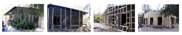 rustic  by Crescente Böhme Arquitectos, Rustic