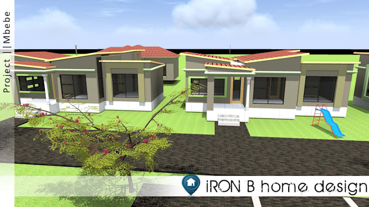 Green residence project: modern  by iRON B HOME DESIGN, Modern
