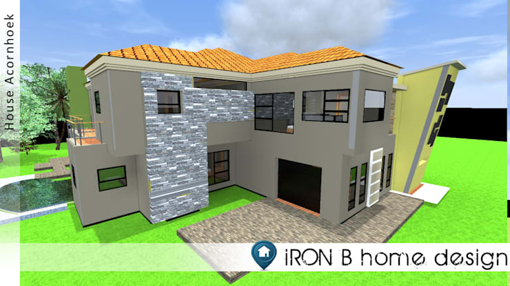 de estilo  por iRON B HOME DESIGN