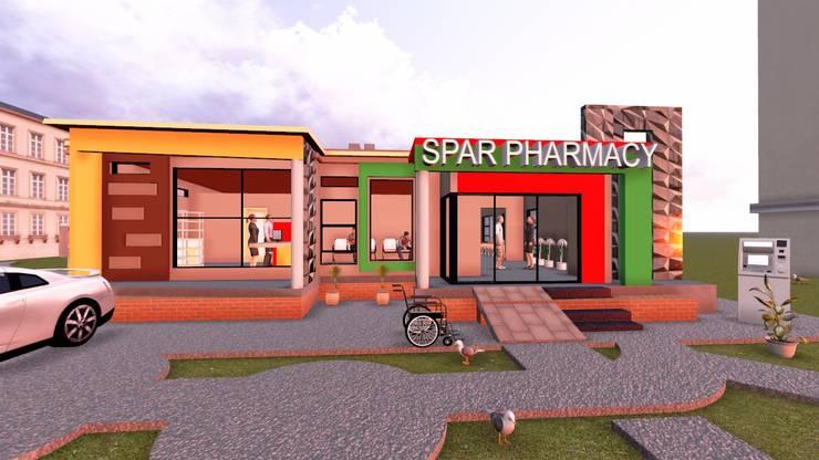 Medical center: minimalist  by iRON B HOME DESIGN, Minimalist