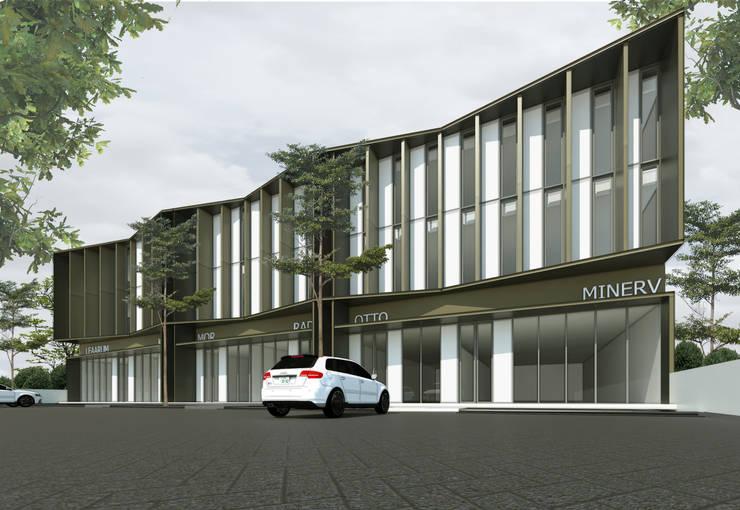 B  SHOP HOUSE PHASE I:   by MAV Architects