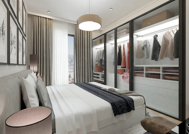 Dormitorios de estilo  por 50GR Mimarlık