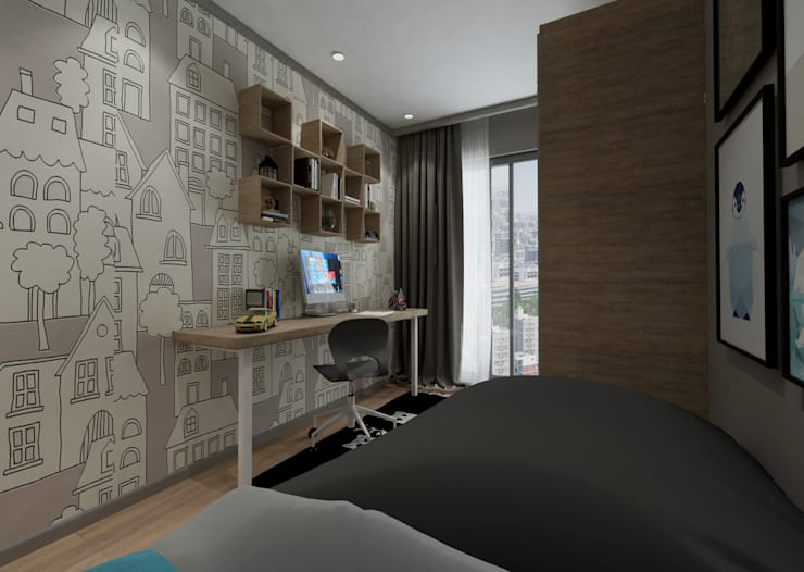 Nursery/kid's room by 50GR Mimarlık, Modern