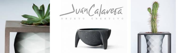 Nací de la Tierra – Macetas: Hogar de estilo  por Juan Calavera