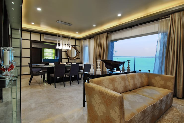 Residence: modern Living room by ozone interior