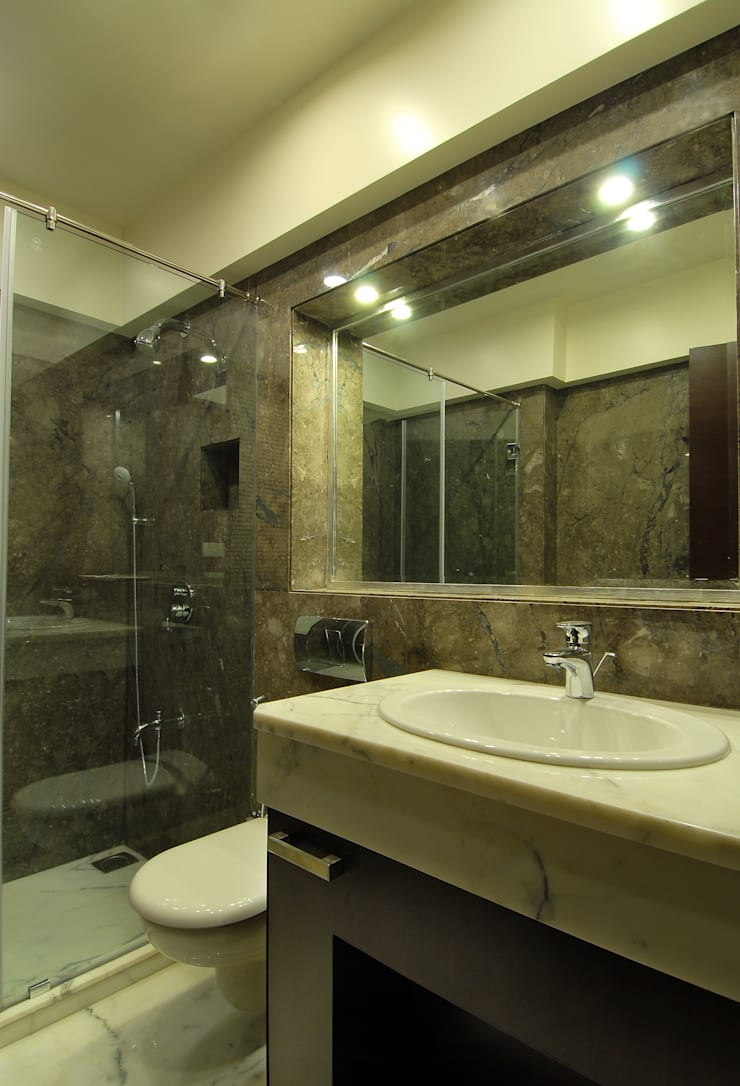 Residence:  Bathroom by ozone interior