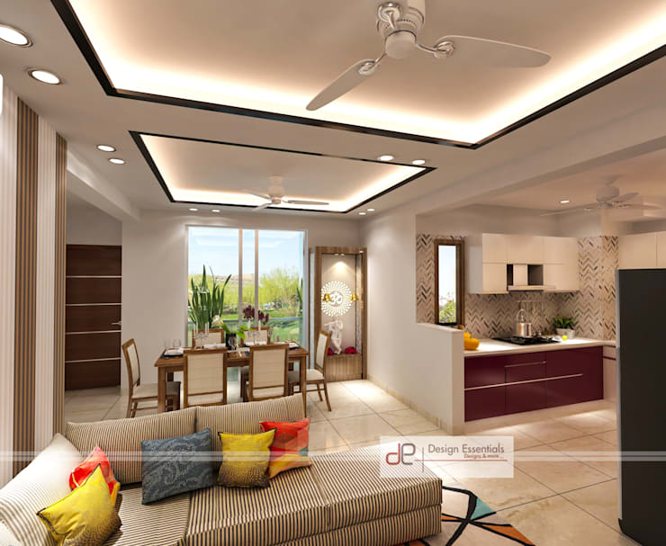 15 fascinating false ceiling designs from Indian homes