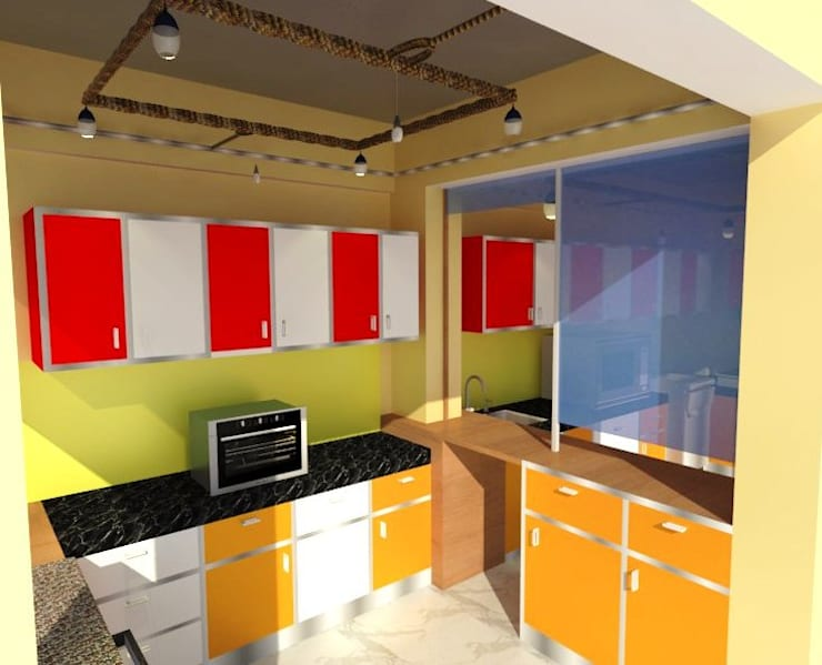 FOOD CAFE:   by RID INTERIORS