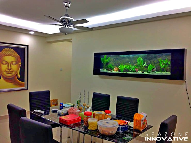 tropical Dining room by Seazone Innovative Sdn Bhd