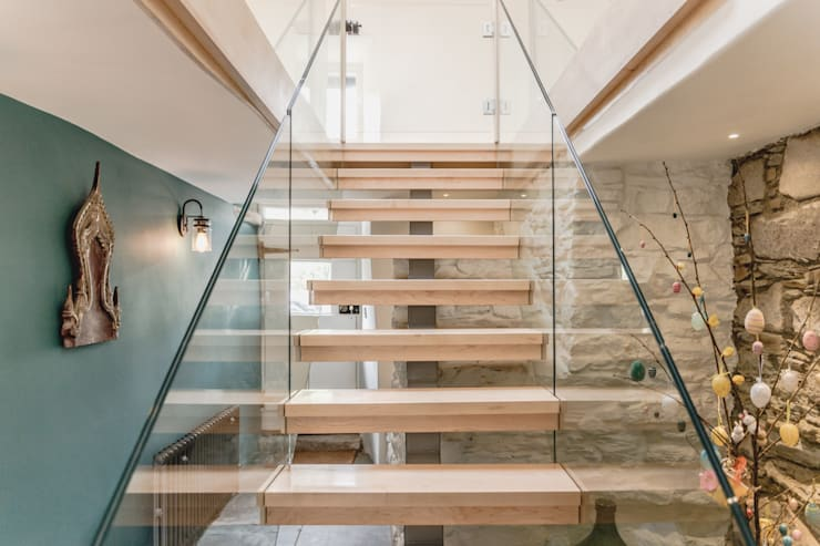 Stairs by Living Space Architects