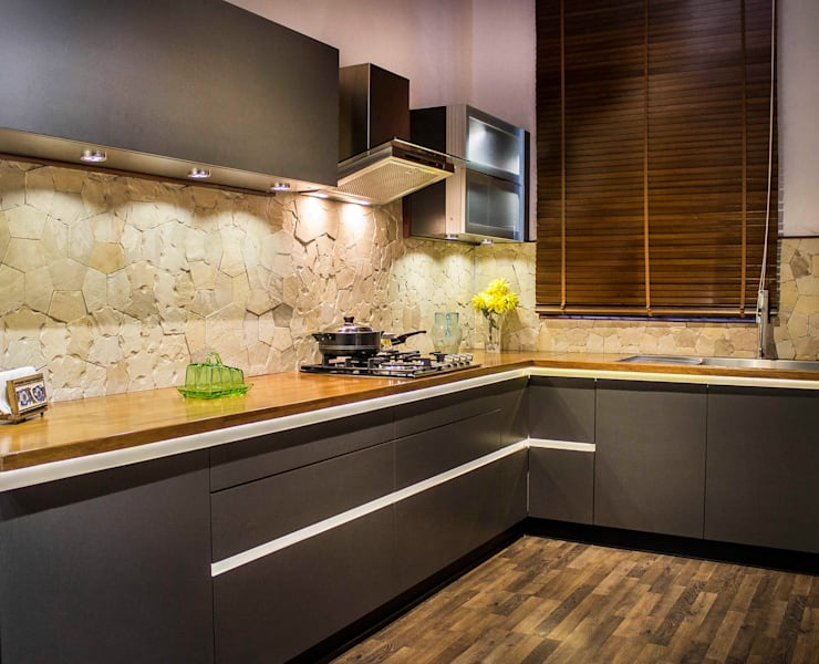 POISE: Showroom:  Kitchen units by Poise