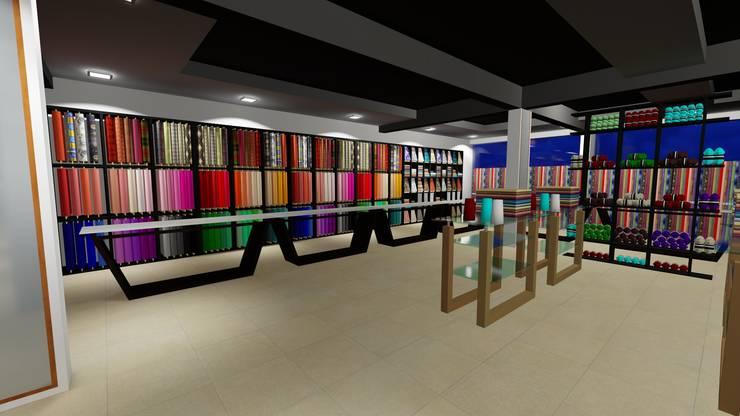 Shree Shanteshwar Supermarket @ Nidagundi, Vijayapura:   by Cfolios Design And Construction Solutions Pvt Ltd