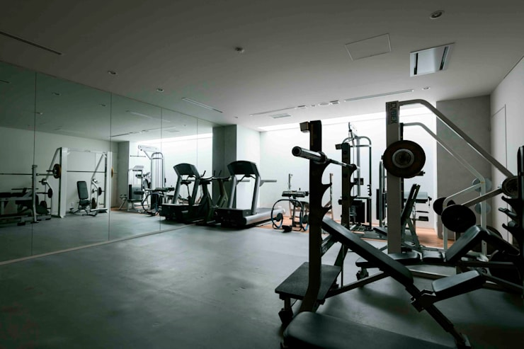 modern Gym by JWA,Jun Watanabe & Associates