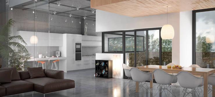 Interior Módulo 1: Salones de estilo  de AVANTUM