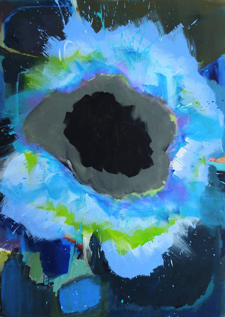 Blue Piece: modern  door New German Art, Modern