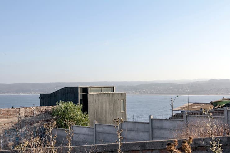 Wooden houses by Crescente Böhme Arquitectos, Modern Wood Wood effect