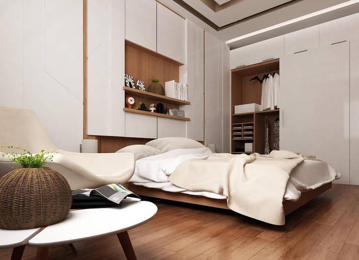 modern Dressing room by TK Designs