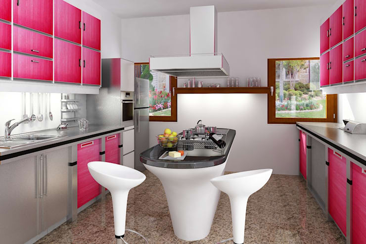 kitchens and interiors :  Kitchen by Home  Solutions