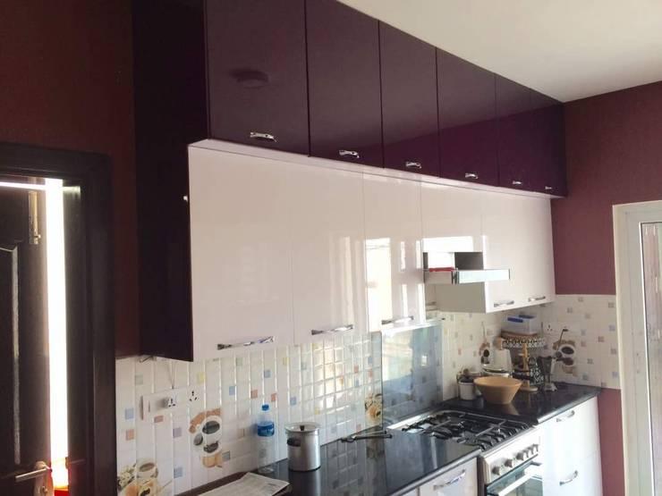 Interior: modern Kitchen by Design Space