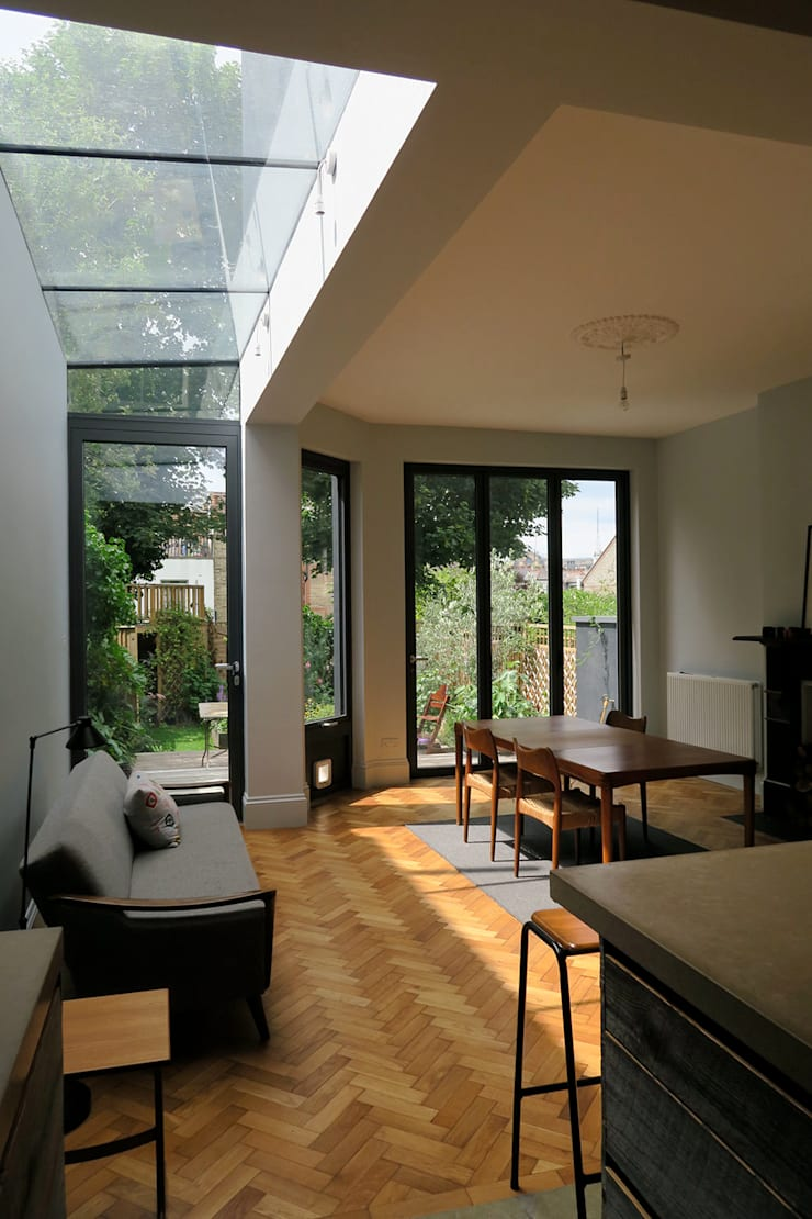 Dining Room & Extension:  Dining room by A2studio