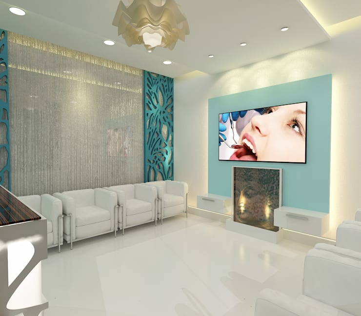 Alpha Dental Clinic,9X Mall, GURGAON:  Clinics by Form & Function