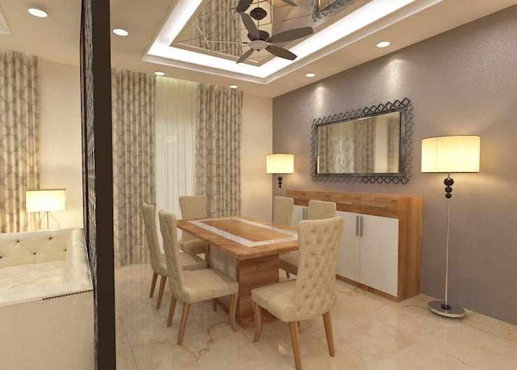 ATS hamlet One, NOIDA:  Dining room by Form & Function,Modern