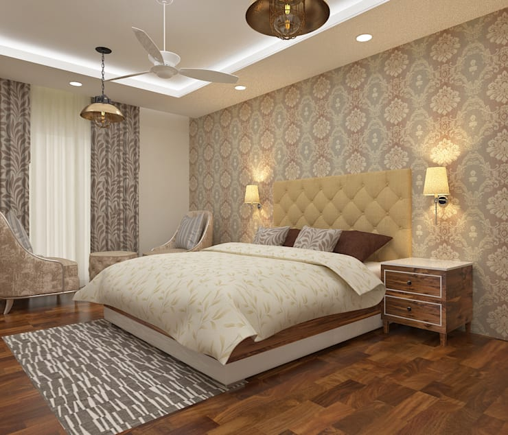ATS hamlet One, NOIDA:  Bedroom by Form & Function,Modern
