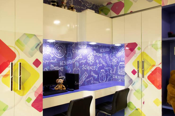 Residential Interior of 2bhk: modern Nursery/kid's room by ENTWURF
