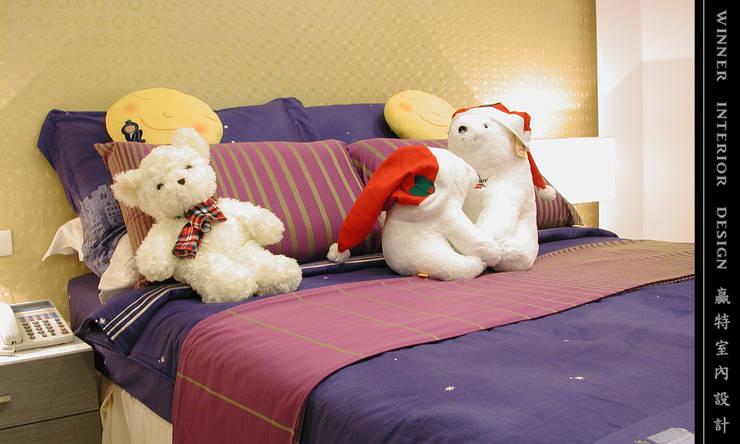 Girls Bedroom by 贏特室內裝修工程有限公司  Winner Interior Design, Eclectic