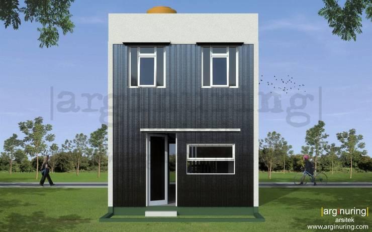 Tampak Belakang:   by Arginuring Arsitek