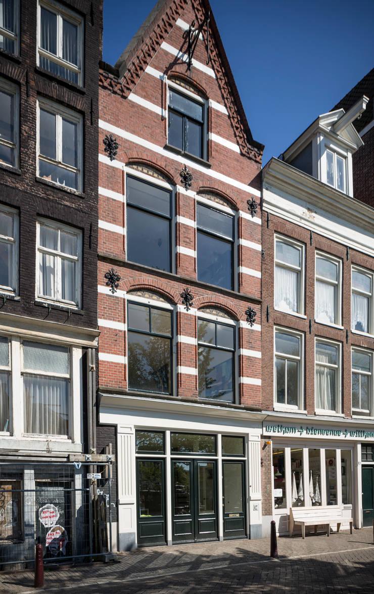 Woonhuis Prinsengracht:  Eengezinswoning door Bas Vogelpoel Architecten