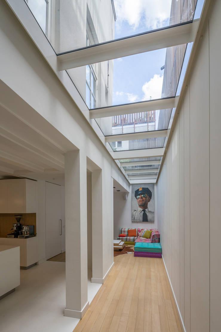 Woonhuis Prinsengracht:  Serre door Bas Vogelpoel Architecten