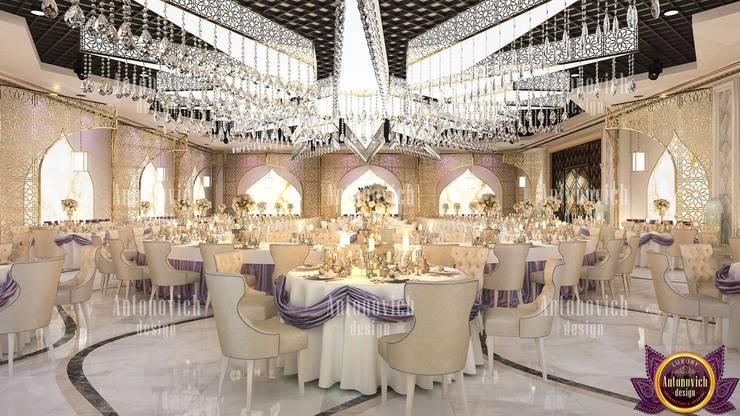 Amazing interior design Dubai by Katrina Antonovich:  Living room by Luxury Antonovich Design