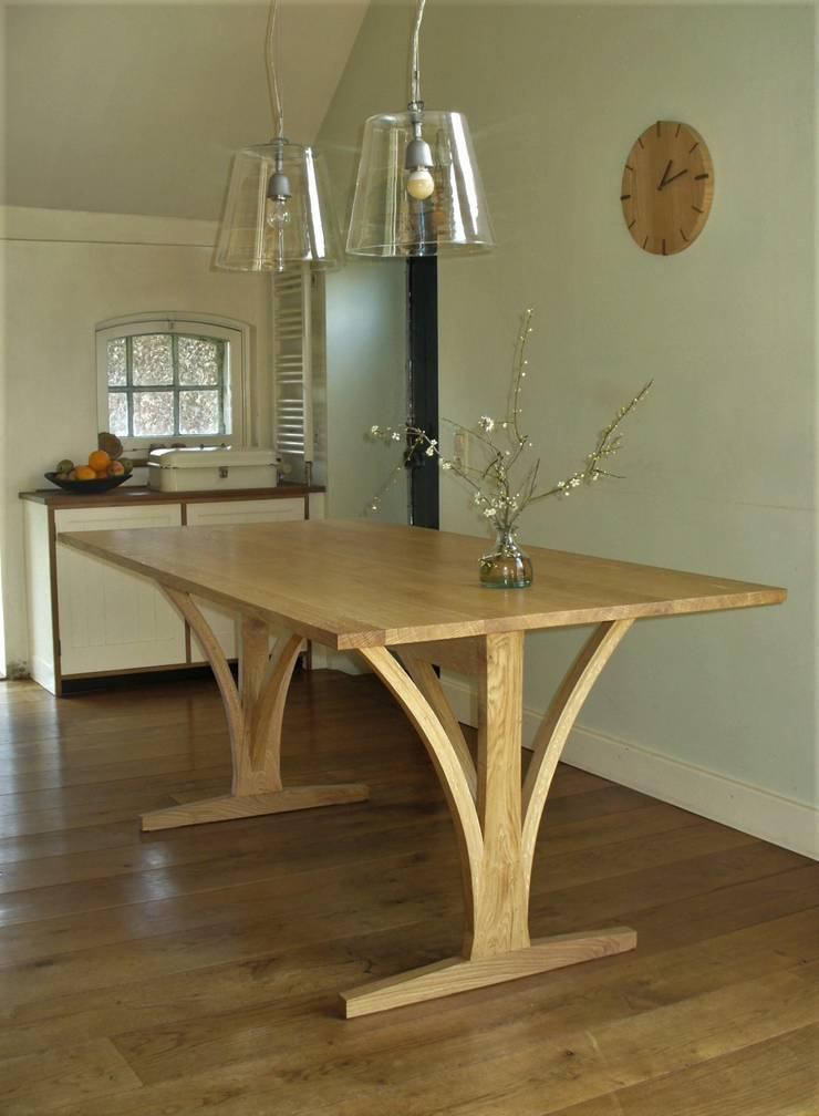 shaker tafel:  Eetkamer door Meubelmakerij Luitjens